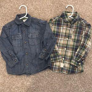 Carter's Fall Shirt Bundle